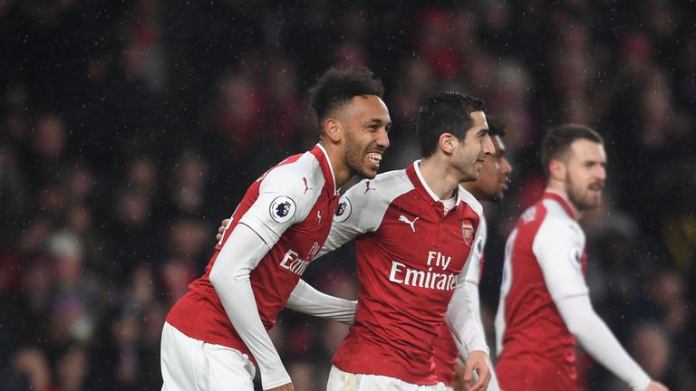 Pierre-Emerick Aubameyang and Henrikh Mkhitaryan joined Arsenal in January