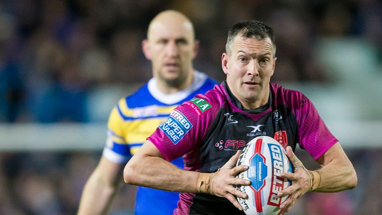 Danny McGuire faced his former club and was instrumental for Hull KR