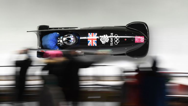 Germany And Canada Tie For Gold In Two-Man Bobsled Race