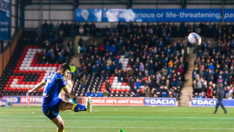 Bryson Goodwin's penalty after 56 minutes proved vital come the end with Widnes piling on the pressure
