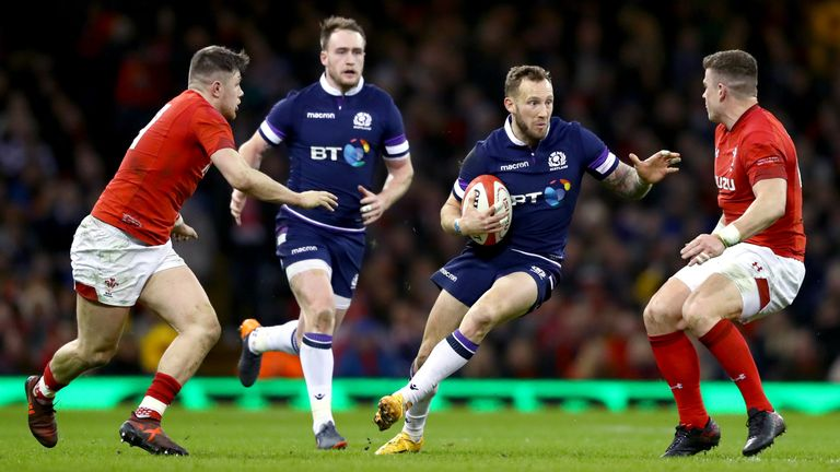 Six Nations: Scotland display in Wales 'shocks' Gregor Townsend