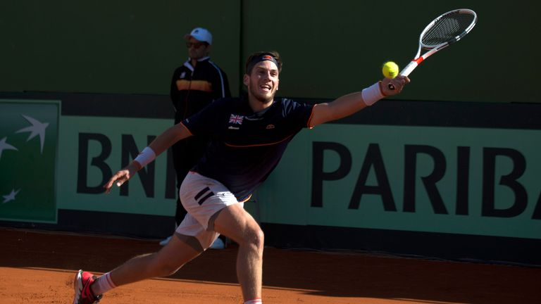 Cameron Norrie shone in the absence of Andy Murray and Kyle Edmund during defeat to Spain