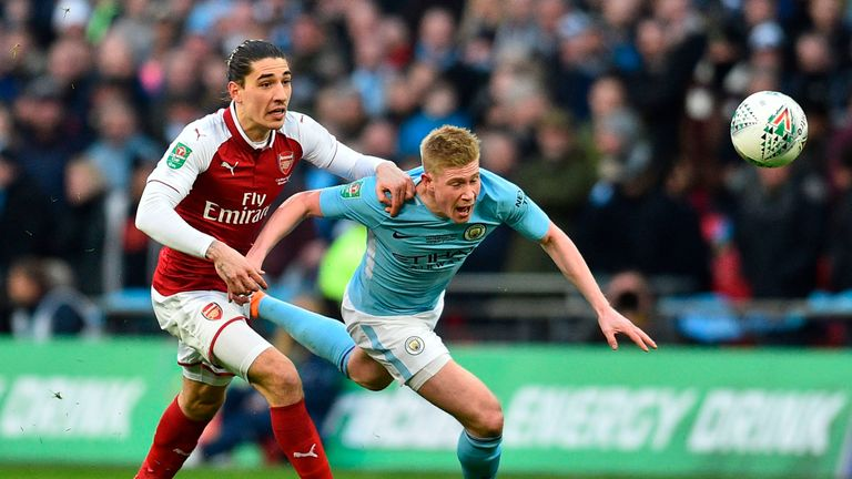 Hector Bellerin's agent responds to Manchester United, Juventus rumors