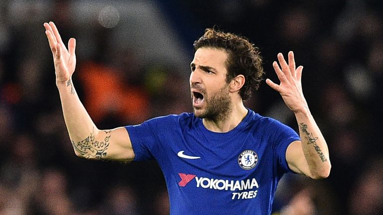 Fabregas and Chelsea have endured a tough season but have made it back to the FA Cup final