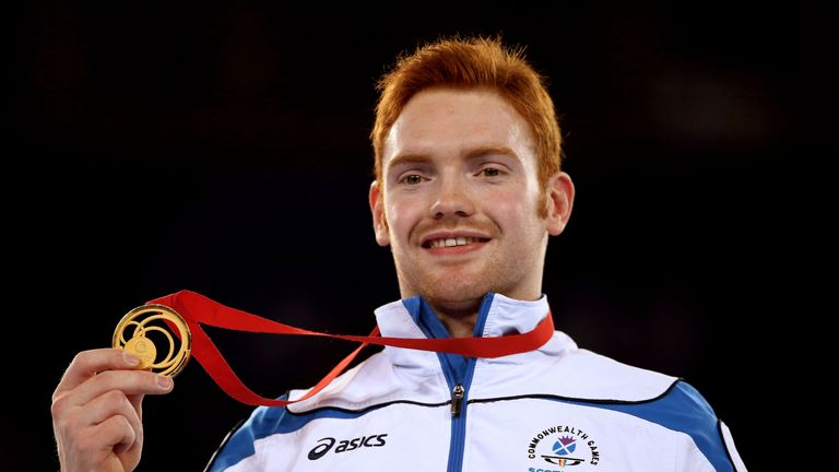 Gold medalist Daniel Purvis is part of Team Scotland