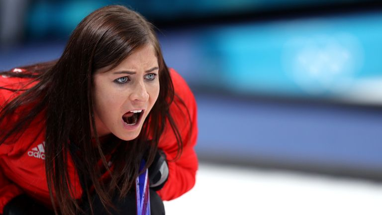 Eve Muirhead is the skip of Great Britain's women's curling team at the 2018 Winter Olympics in Pyeongchang