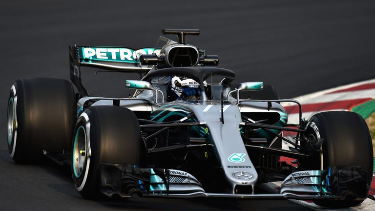 toto wolff happy with mercedes 39 start to f1 2018 winter testing f1 news. Black Bedroom Furniture Sets. Home Design Ideas