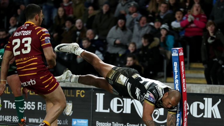 Hull FC's Fetuli Talanoa is back in the Hull squad after injury