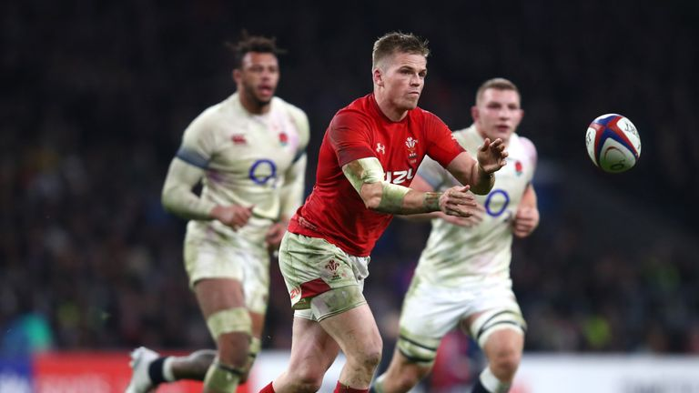 Gareth Anscombe felt his try should have been allowed to stand against England