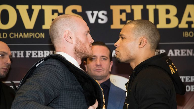 George Groves and Chris Eubank Jr meet in the World Boxing Super Series semi-final on Saturday