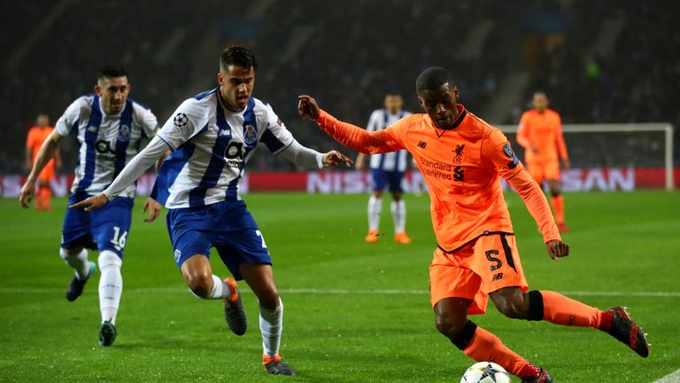Georginio Wijnaldum was in fine form in the middle