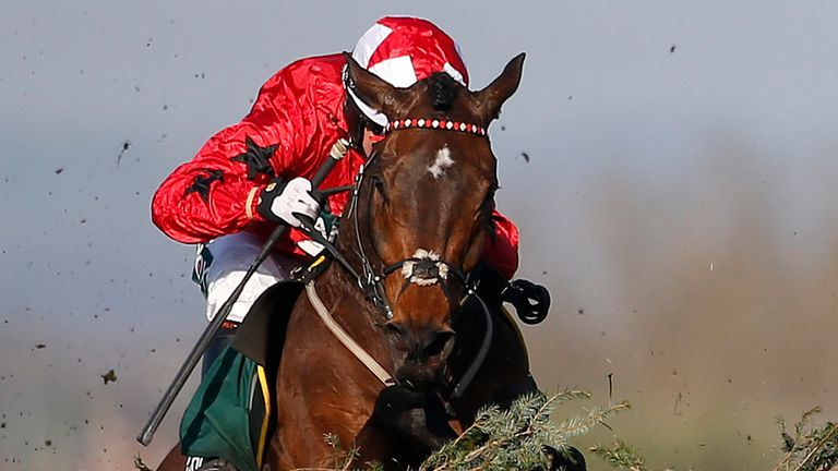 Blaklion: Likened to Red Rum by his trainer