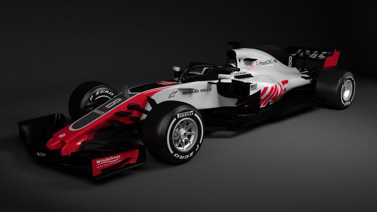 Haas  F Car