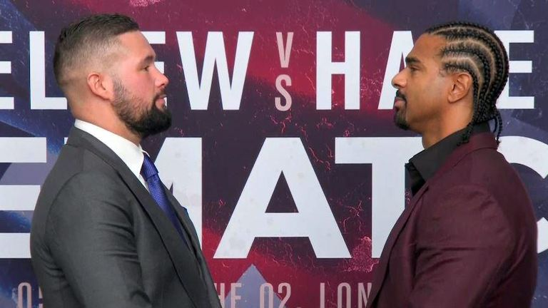 Bellew faces Haye again at The O2