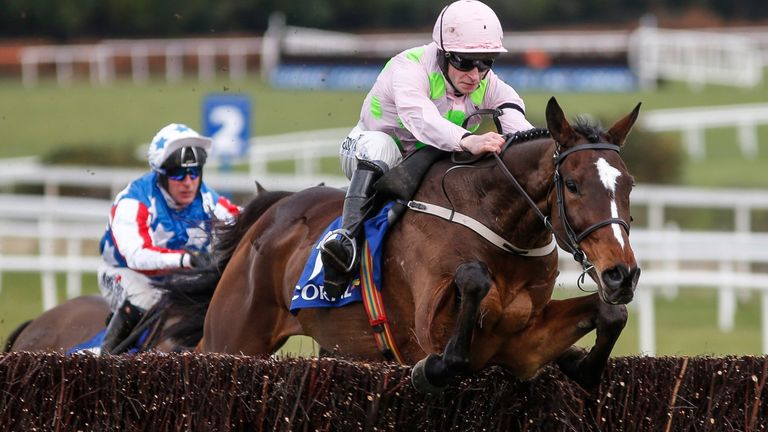 David Mullins and Min were impressive winners at Leopardstown last month