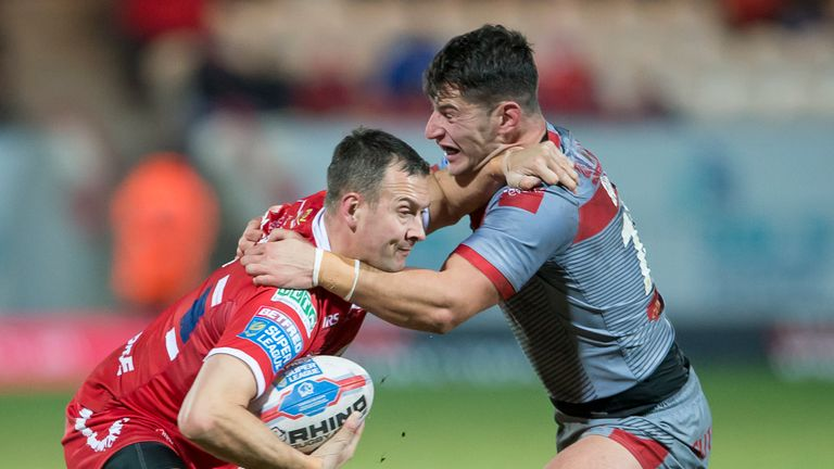 Danny McGuire's experienced showed throughout the Round 3 encounter