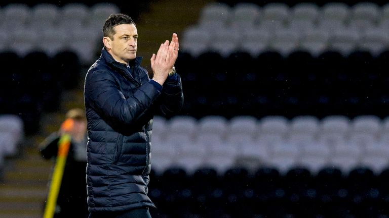 Jack Ross has been boss at St Mirren since 2016.