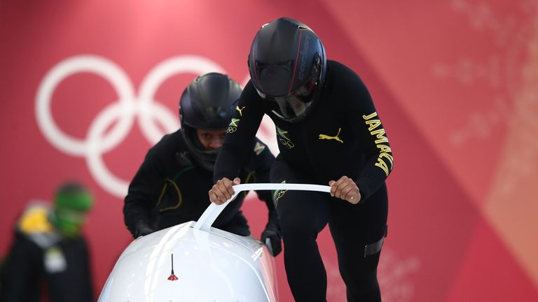 Jazmine Fenlator-Victorian and Carrie Russell could become the first Jamaican women competitors at the Winter Olympics