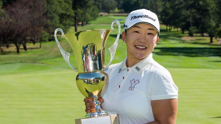 Jiyai Shin fired an eight-under 64 during the final round