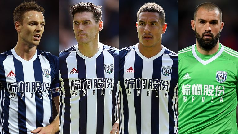 Jonny Evans, Gareth Barry, Jake Livermore and Boaz Myhill have apologised
