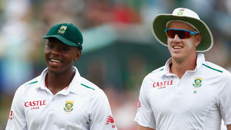 Rabada - Morkel had become a dominating bowling pair for SA in recent times. (AFP)