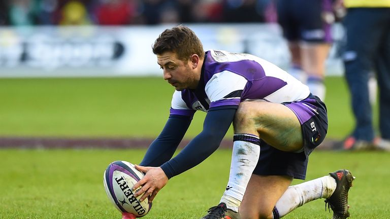 Laidlaw started for the first time since facing France last year in Paris