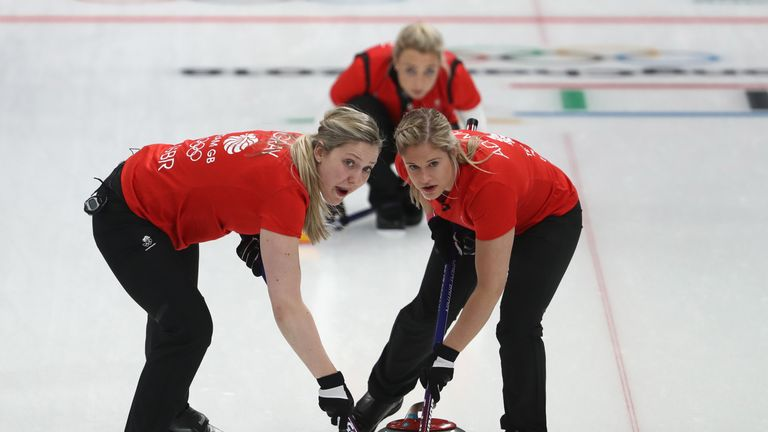 Team GB's women curlers beat Japan to go one win from ...
