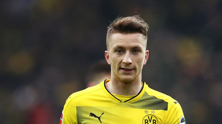 Marco Reus made his long-awaited return from injury