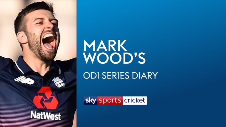 Mark Wood's ODI Series Diary