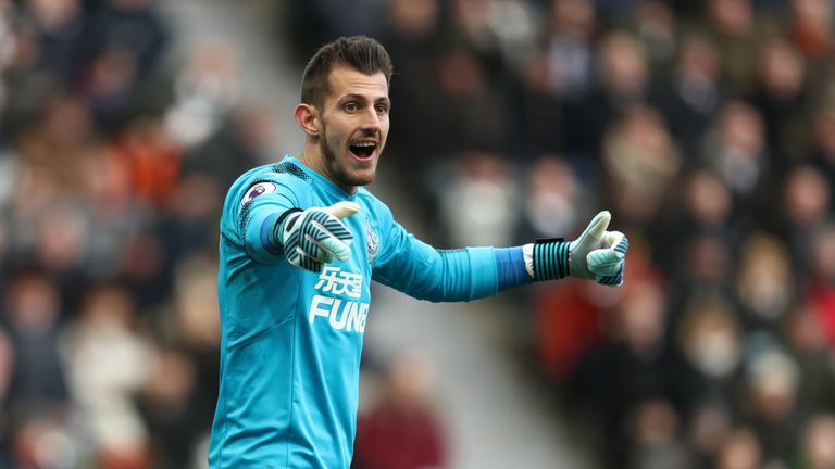 Newcastle goalkeeper Dubravka still floating after Man Utd debut win