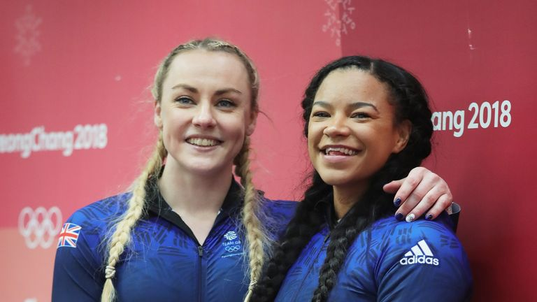 Winter Olympics: Crowdfunded Bobsleigh pair McNeill and Moore in hunt for medals