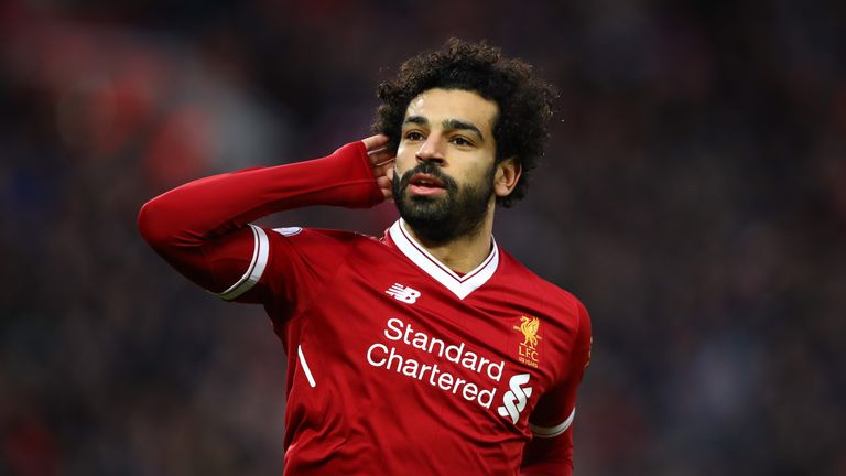 Mohamed Salah hit 20 Premier League goals in just 25 games for Liverpool