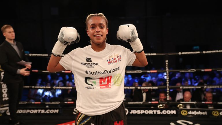Natasha Jonas hopes to challenge for a world title this year