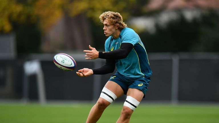 Ned Hanigan has impressed for Australia and the Waratahs