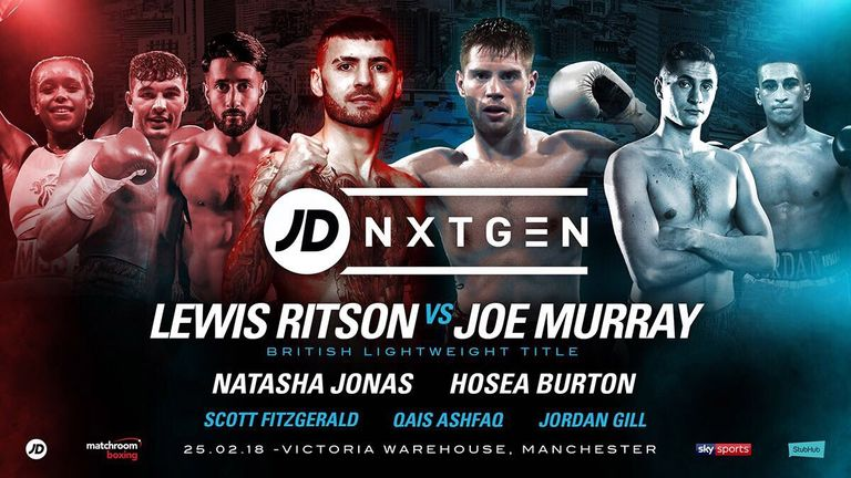 The NXTGEN stars take centre stage on Sunday night from Manchester