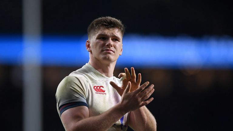 Owen Farrell will captain England in Paris on Saturday