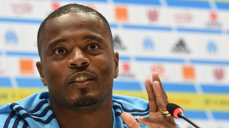 Patrice Evra is coming back to the Premier League