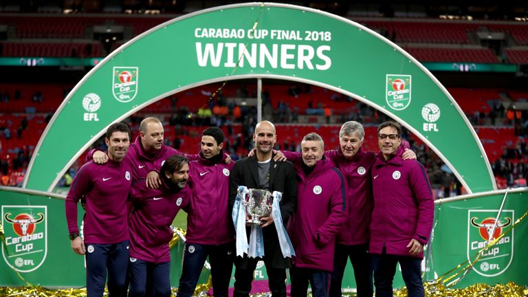 Manchester City's Guardiola charged for wearing political ribbon