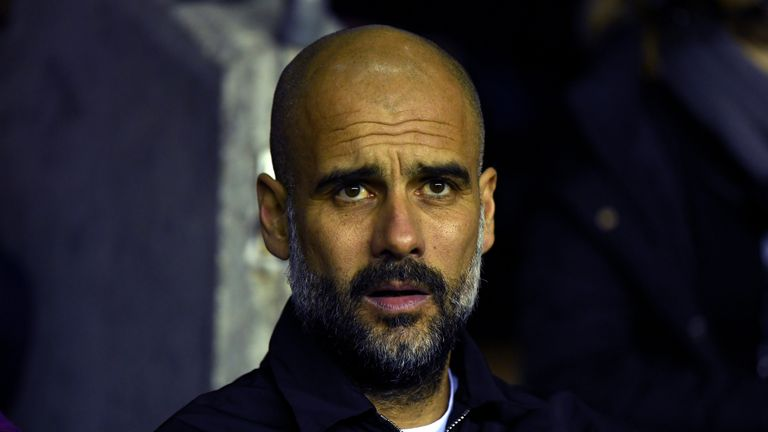 Pep Guardiola has confirmed a private plane containing his family was searched by Spanish authorities