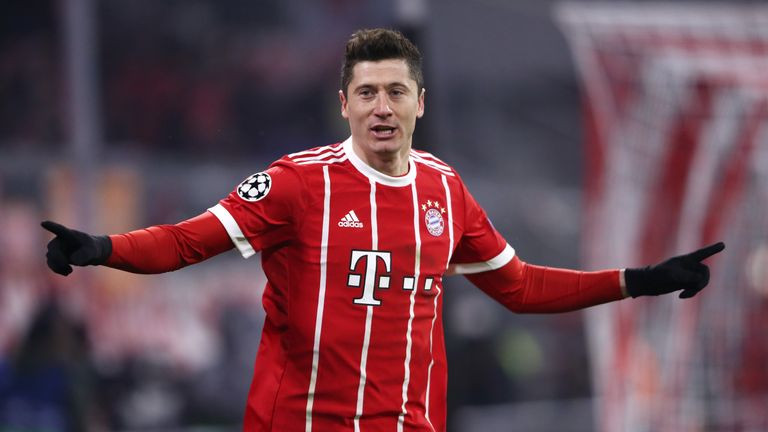 Lewandowski has scored 97 goals in 108 Bundesliga games for Bayern