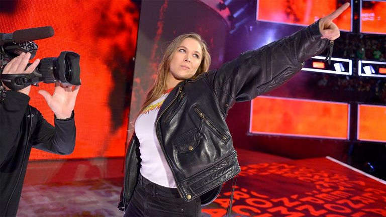 Ronda Rousey can become a legend in WWE, according to current champion AJ Styles