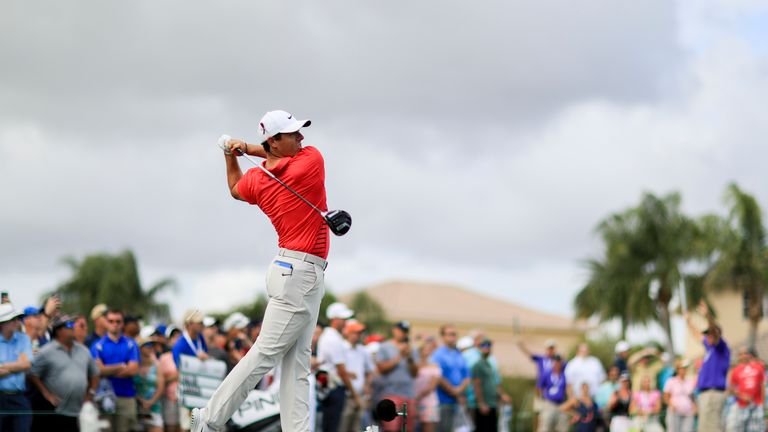 McIlroy started brightly and was two under after four holes