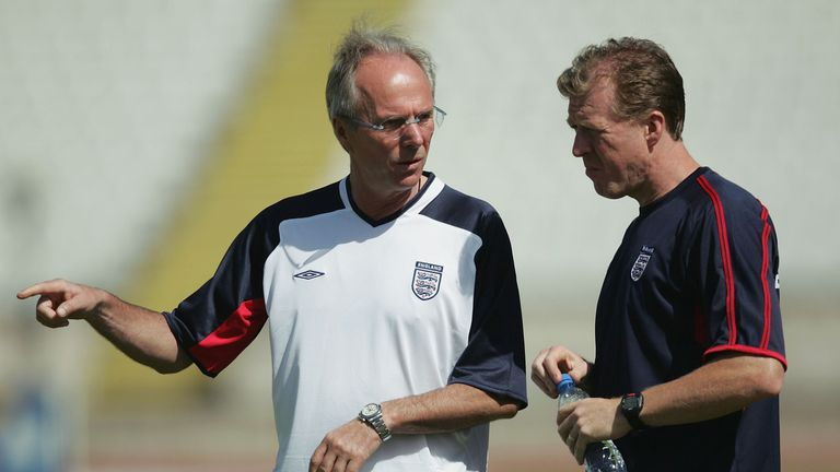 Sven-Goran Eriksson's England verdict: Winter break ...