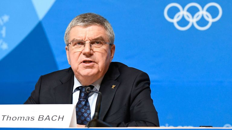 International Olympic Committee (IOC) President Thomas Bach says the doping cases have 'cast a shadow' over the OAR team