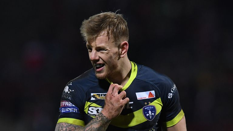 Tom Johnstone is the solitary new face in Wayne Bennett's squad