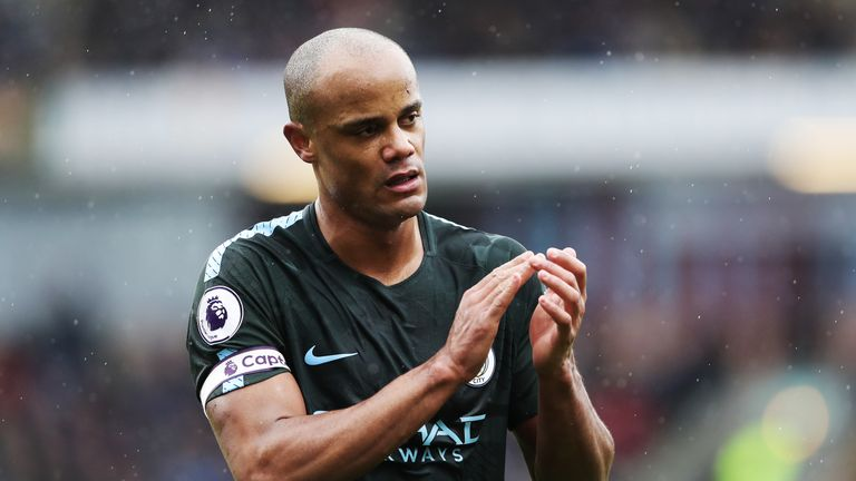 Vincent Kompany says confidence is vital in their Champions League aspirations