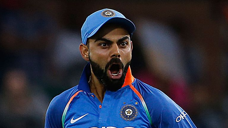 No 35 for Kohli, 5-1 for India