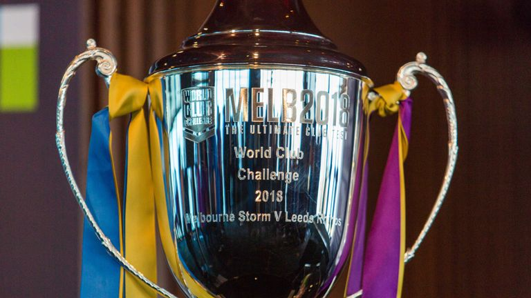 The World Club Challenge trophy