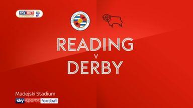 Reading 3-3 Derby