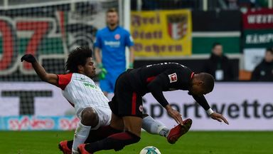 fifa live scores - Bundesliga: Augsburg climb table with Eintracht Frankfurt win